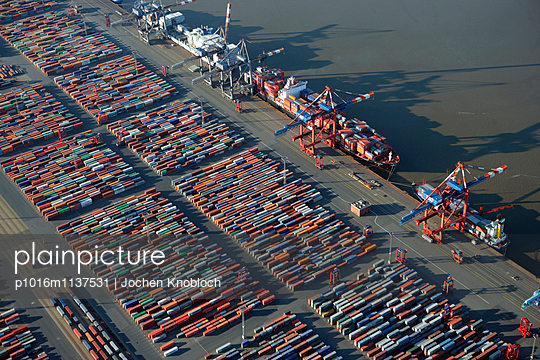 Container terminal - p1016m1137531 by Jochen Knobloch