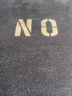NO Sign - p1335m1508323 by Daniel Cullen