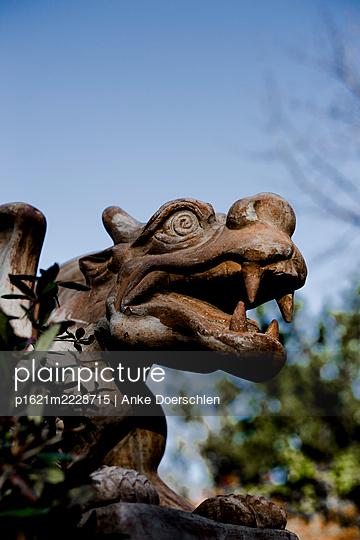 Dragon head - p1621m2228715 by Anke Doerschlen