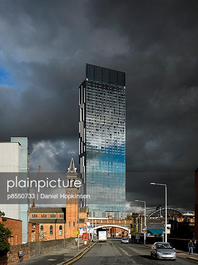 Hilton Hotel Tower, 303 Deansgate, Manchester. - p8550733 by Daniel Hopkinson
