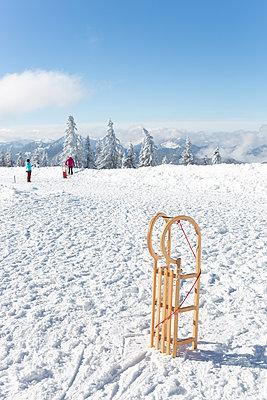 Go sledging  - p454m2073113 by Lubitz + Dorner
