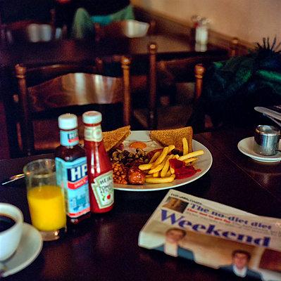 English Breakfast - p858m886671 von Lucja Romanowska