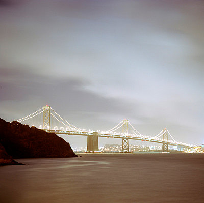 Oakland Bay Bridge - p3420113 by Thorsten Marquardt
