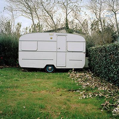 Campingplatz - p949m658245 von Frauke Schumann