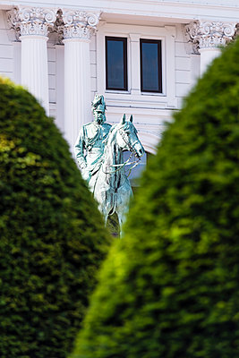 Wilhelm I, Reiterdenkmal - p488m1048410 von Bias