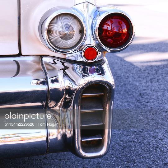 USA, California, Oldtimer, Taillights - p1154m2229526 by Tom Hogan