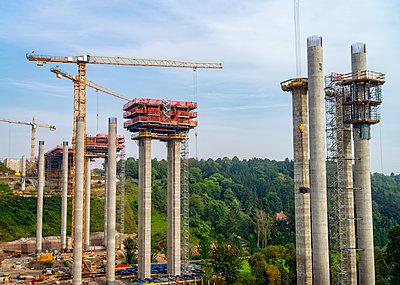 Building a new bridge - p1684m2280982 by Klaus Ohlenschlaeger