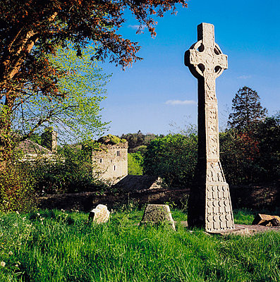 Moone High Cross, Co Kildare, Ireland - p4428861 by The Irish Image Collection
