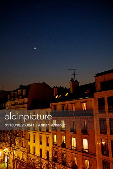 France, Paris at night - p1189m2263841 by Adnan Arnaout
