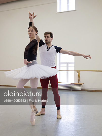 Ballett Training - p390m2053553 by Frank Herfort