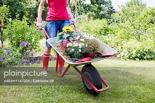 Gartenzeit - p464m1147204 von Elektrons 08