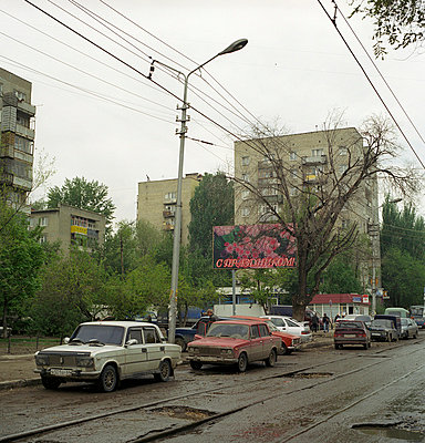 Streets in Russia - p8190042 by Kniel Mess