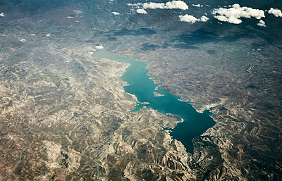 Aerial view, Morocco - p913m2125514 by LPF