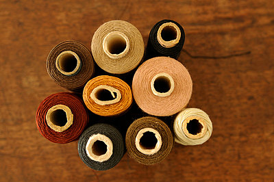 Thread spools - p4700142 by Ingrid Michel