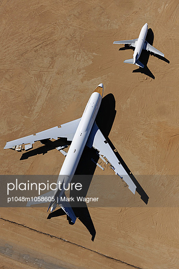 Airliner scrap yard - p1048m1058605 by Mark Wagner