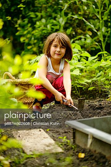 Kinder-Garten - p887m902608 von Christian Kuhn