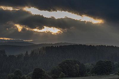 Berglandschaft im Schwarzwald - p1354m1216671 von Kaiser photography
