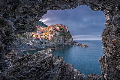 Italy, Liguria, La Spezia, Cinque Terre National Park, Manarola - p300m2024073 by Raul Podadera Sanz