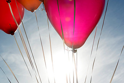 Helium balloon - p451m1087556 by Anja Weber-Decker