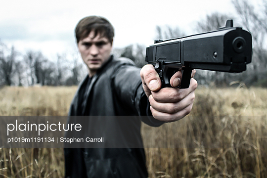 Dirty Harry Shot - p1019m1191134 by Stephen Carroll