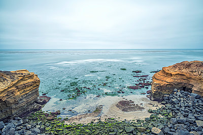 Sunset Cliffs Natural Park - p1436m1589613 by Joseph S. Giacalone