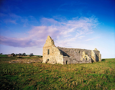 Rathfran Friary, Killala, Co Mayo, Ireland, 13th Century Dominican friary - p4428843 by The Irish Image Collection