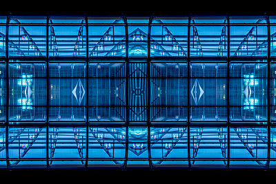 Abstract Architecture Kaleidoscope Bonn - p401m2219843 by Frank Baquet