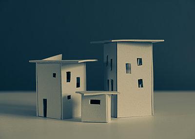 City planning, mock-up settlement - p758m2183880 by L. Ajtay