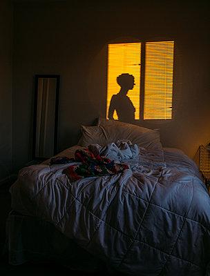 Schlafzimmer - p1262m1182411 von Maryanne Gobble