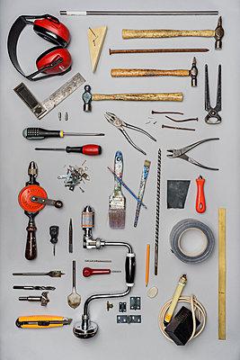 Wood work tools - p1323m1182052 by Sarah Toure