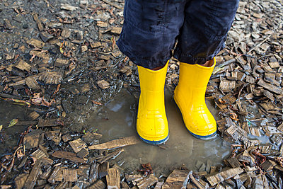 Rainboots - p535m917586 by Michelle Gibson