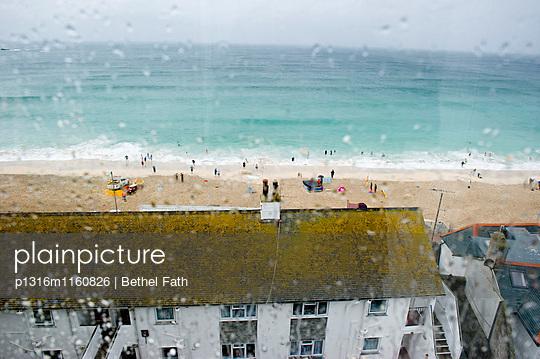 Strand, St Ives, Cornwall, South West England, England, Großbritannien - p1316m1160826 von Bethel Fath