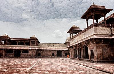Der Palast Panch Mahal  - p1445m1586041 von Eugenia Kyriakopoulou