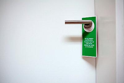Hotel room door - p4830303 by Arne Gerson