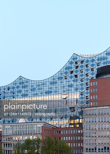 Elbphilharmonie Anschnitt - p1124m1149972 von Willing-Holtz