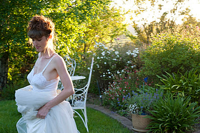 Romantic vintage dress - p5230057 by Lisa Kimmell