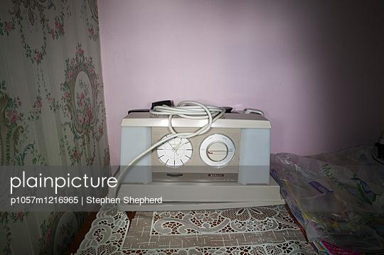 Altmodischer Teekocher - p1057m1216965 von Stephen Shepherd