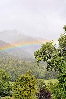 Regenbogen - p715m694521 von Marina Biederbick