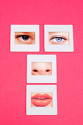 Face montage - p564m734983 by Dona