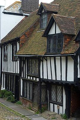 Tudor Houses, Rye, Kent, England - p8551064 by Natalie Tepper