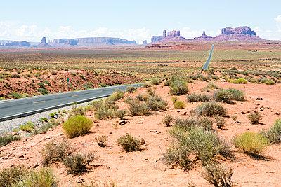 Monument Valley national park in Utah - p1057m1466803 by Stephen Shepherd