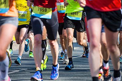 Marathon - p427m1042721 von R. Mohr