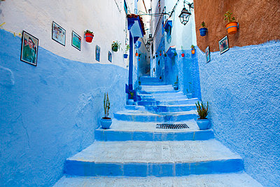North Africa, Morocco,Chefchaouen district.Details of the city - p651m2006564 by ClickAlps