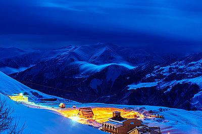 Gudauri ski resort, Georgia, Caucasus region, Central Asia, Asia - p871m1082183 by Christian Kober