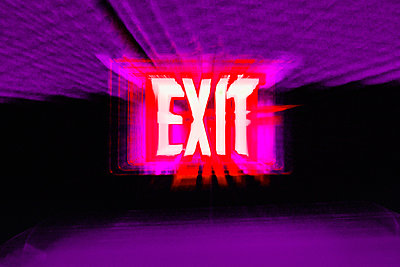 Exit Sign - p6944195 by Tomas Thelin