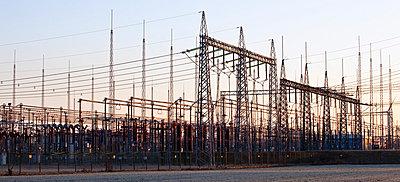 Electrical substation - p8420060 by Renée Del Missier