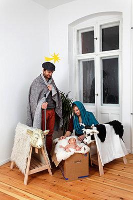 Live nativity scene - p238m831899 by Anja Bäcker