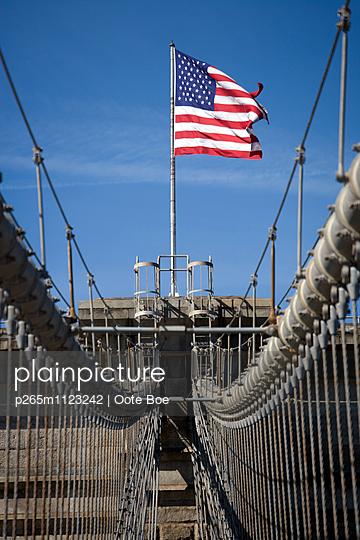 US-Flagge - p265m1123242 von Oote Boe