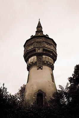 Historischer Wasserturm - p470m2082300 von Ingrid Michel