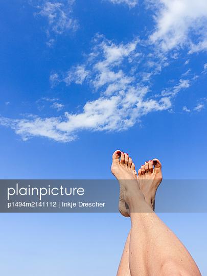 Feet up! - p1494m2141112 by Inkje Drescher